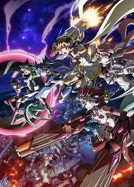 2017年アニメ売上ランキング3位 戦姫絶唱シンフォギアAXZ キービジュアル