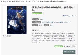 Music.jp 青春ブタ野郎はゆめみる少女の夢を見ない レンタル画像