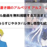 アニメ映画『蒼き鋼のアルペジオ アルス・ノヴァ』無料動画のフル視聴方法を図解!PandoraやAnitubeも調査