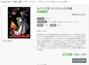 ルパン三世 カリオストロの城 music.jp 作品紹介