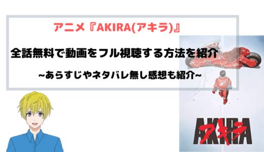 アニメ『AKIRA(アキラ)』無料で映画フル動画を視聴する方法を図解