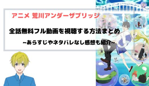 アニメ 荒川アンダー ザ ブリッジ 全話無料 フル動画視聴情報を図解