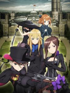 プリンセス プリンシパル Crown Handler 第1章 アニメ映画 キービジュアル