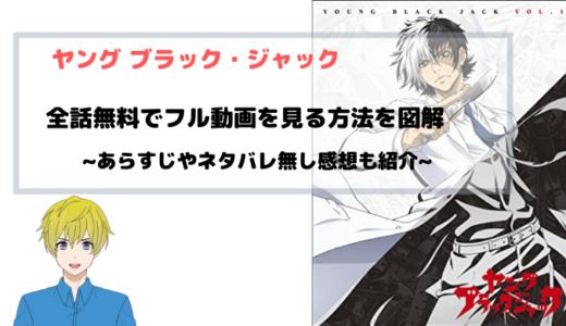 アニメ ヤング ブラック・ジャック 全話無料で動画のフル視聴する方法をまとめて図解!